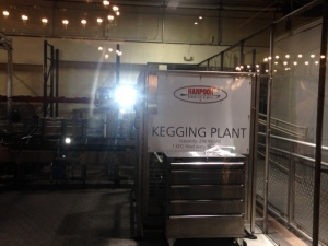 Harpoon Brewery Kegging Plant