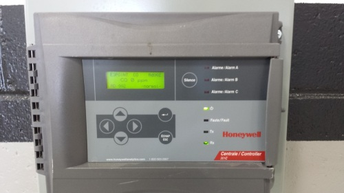301C Controller Honeywell Analytics
