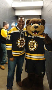 CCI and the Bruins Mascot